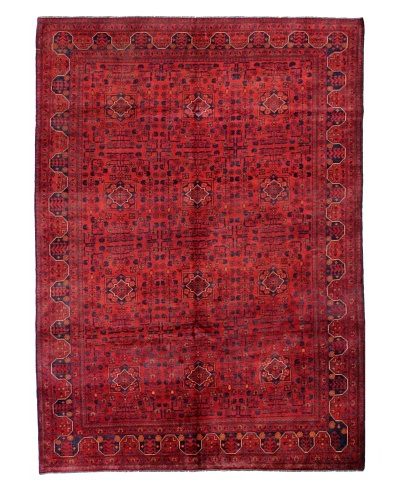 Bashian Fine Beshir Rug, Red, 6' 6 x 9
