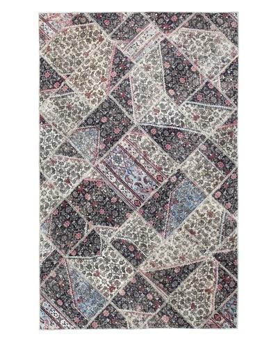 Bashian Patchwork Rug, Multi, 4' 9 x 7' 9