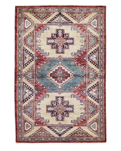 Bashian Fine Kazak Rug, Red, 3' 5 x 5' 2