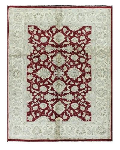 Bashian Mansehra Rug, Red, 5' 1 x 6' 9