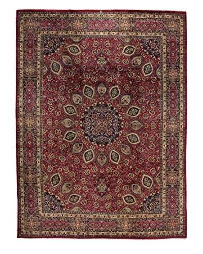 Bashian Rugs Meshed Rug, Red, 9' 8 x 13' 1