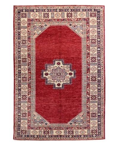 Bashian Fine Kazak Rug, Red, 5' 5 x 8' 1