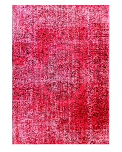 Bashian Antiqued Oushak Rug, Lilac, 6' 7 x 9' 5