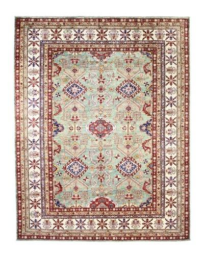 Bashian Fine Kazak Rug, Green, 8' x 10' 1