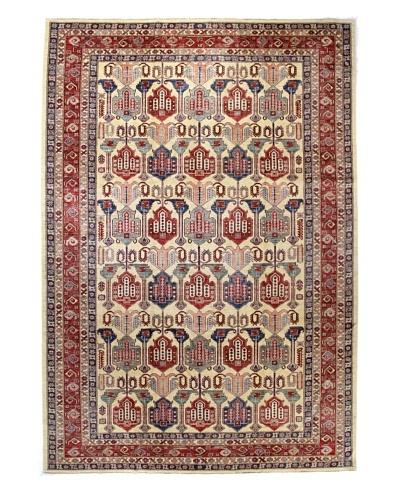 Bashian Fine Kazak Rug, Ivory, 8' 9 x 12' 5