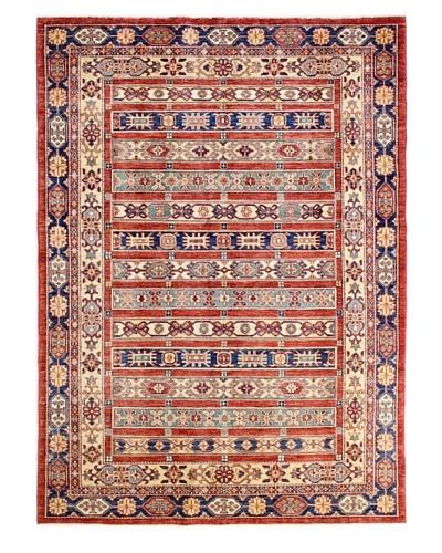 Bashian Fine Kazak Rug, Rust, 4' 10 x 6' 9