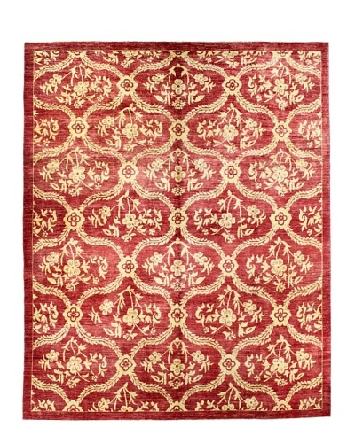 "Bashian Modern Rug, Red, 8' 1"" x 10'"