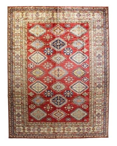 Bashian Fine Kazak Rug, Rust, 9' 1 x 11' 8