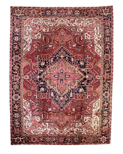 Bashian Herez Rug, Red, 9' 6 x 13' 3