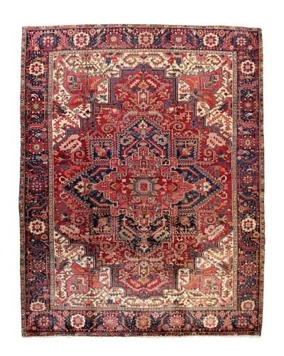 Bashian Herez Rug, Red, 8' 10 x 11' 6