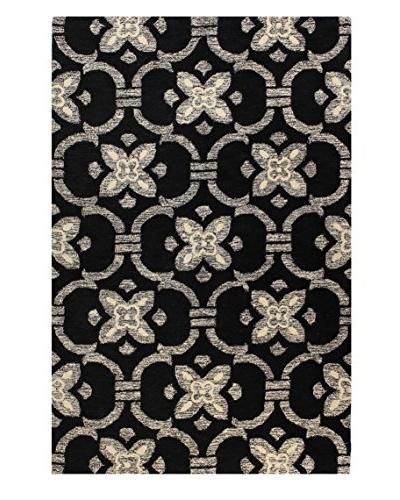 Bashian Rugs Textured Ogee Rug