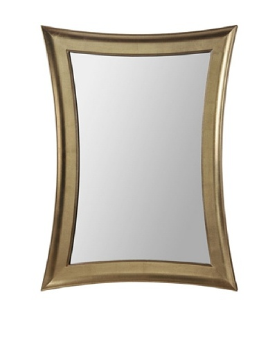 Bassett Mirror Golden Hourglass Wall Mirror