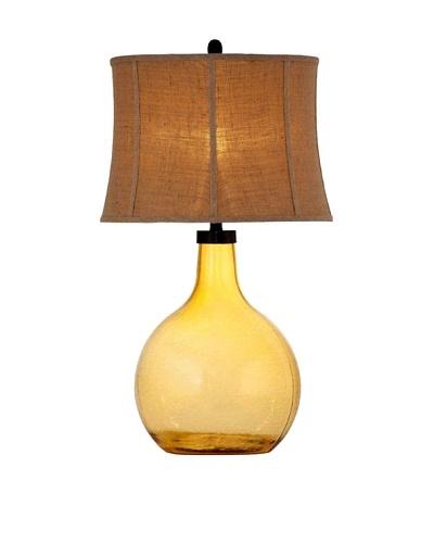 Bassett Mirror Amber Table Lamp