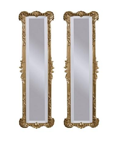 Bassett Mirror Set of 2 Mirror Helena Panel Mirrors