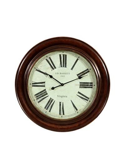 Bassett Mirror Brinkley Wall Clock