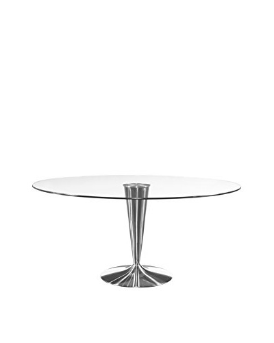 Bassett Mirror Co. Concorde Round Cocktail Table