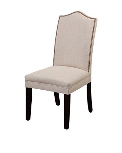 Bassett Mirror Co. Nailhead Parsons Chair