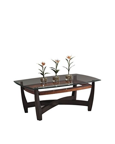 Bassett Mirror Co. Elation Rectangular Cocktail Table