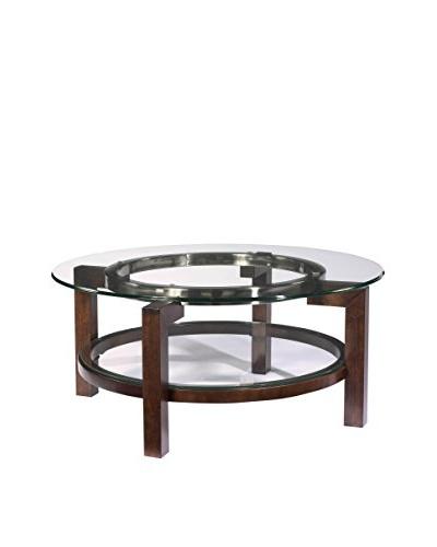 Bassett Mirror Co. Oslo Round Cocktail Table