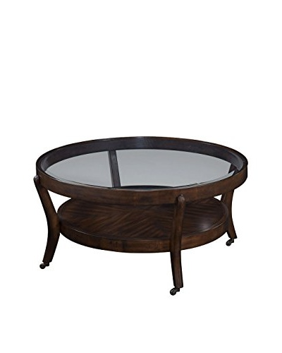 Bassett Mirror Co. Priazzo Round Cocktail Table