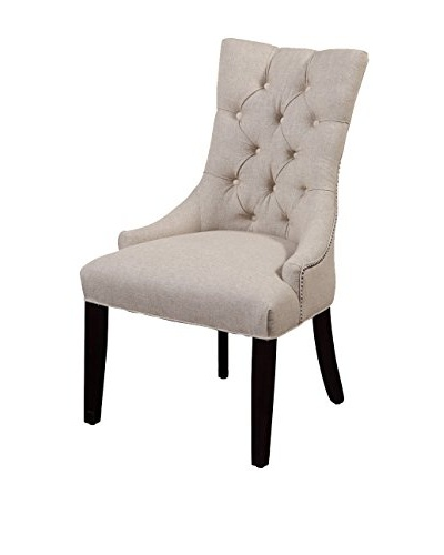 Bassett Mirror Co. Fortnum Tufted Nailhead Parsons Chair