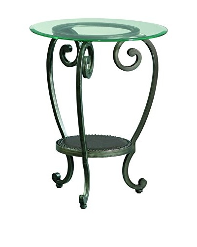 Bassett Mirror Co. Dauphine Round Chairside Table