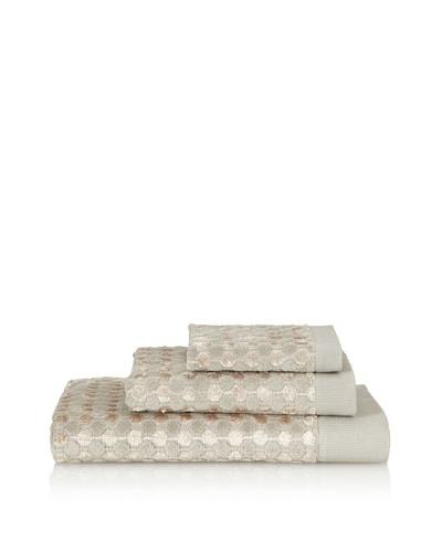 Famous International Art Deco- Dot 3 Piece Towel Set