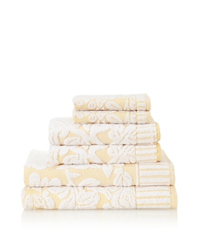 Famous International Chantilly 6-Piece Towel Set