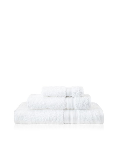 Terrisol 3-Piece Supima Cotton Towel Set, White