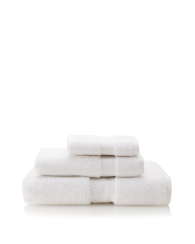 Terrisol The Finest 3-Piece Towel Set, White
