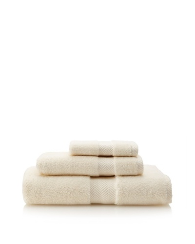 Terrisol The Finest 3-Piece Towel Set, Ivory