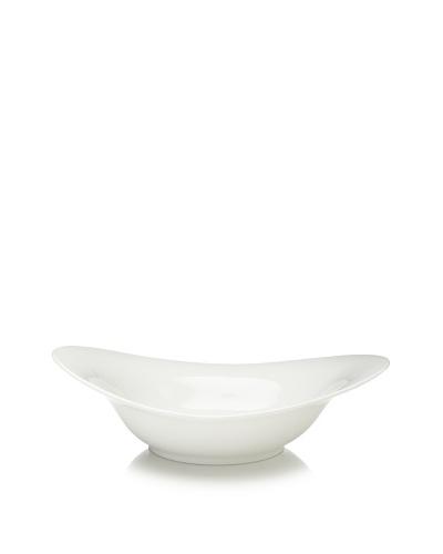 10 Strawberry Street Whittier Swoop Bowl, White