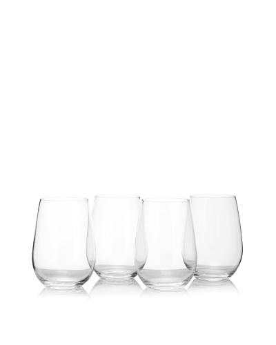 "Riedel 4-Piece Tri ""O"" Riesling/Sauvignon Blanc Glass Set"