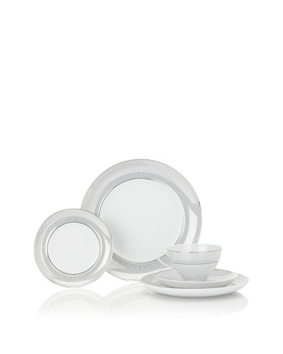 Mikasa Platinum Shimmer 5-Piece Place Setting