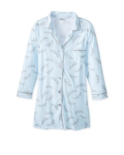 BedHead Pajamas Women's Dragonflies Classic Nightshirt