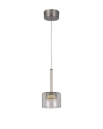 Bel Air Lighting LED Spot 1-Light-Drop-Pendant, Polished Chrome