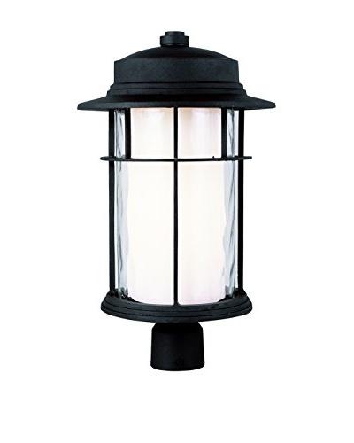 Bel Air Lighting 1-Light Outdoor Large Post Top Lantern