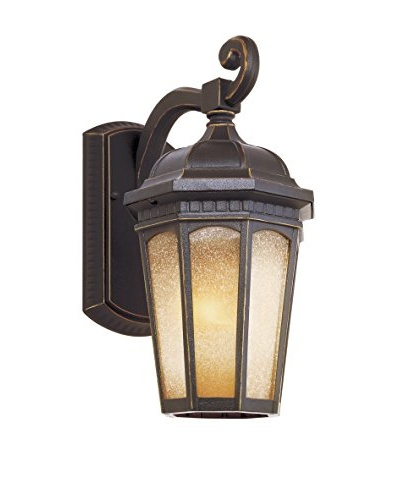 Bel Air Lighting Tea Chateau 13 Wall Coach, Weathered Bronze