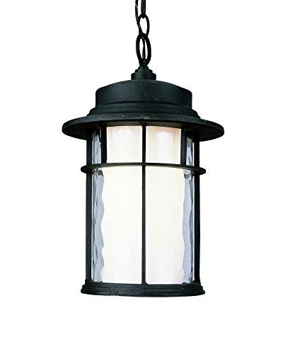 Bel Air Lighting 1-Light Outdoor Medium Hanging Lantern