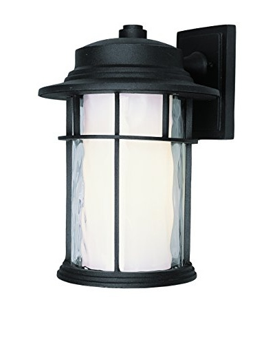 Bel Air Lighting LED 14 Chimney Wall Lantern, Black