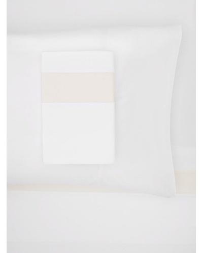 Bella Letto Doppio Sheet Set, White/Ivory, Queen
