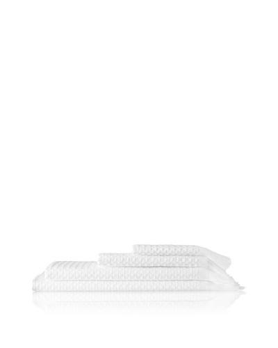 Belle Époque Waffle Hotel 4-Piece Set, White