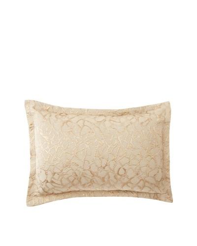 Belle Époque Birdy Little Branches Boudoir Pillow, Golden