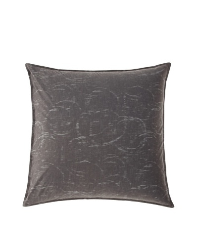 Belle Époque Rainfall Euro Sham, Grey