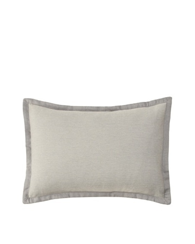 Belle Époque Sky Lace Brilliant Boudoir Pillow, Grey