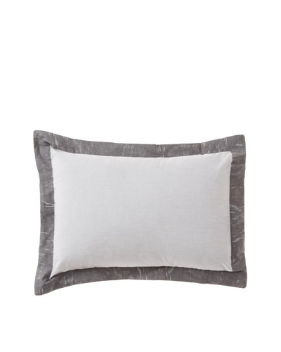 Belle Époque Rainfall Rain Boudoir Pillow, Grey