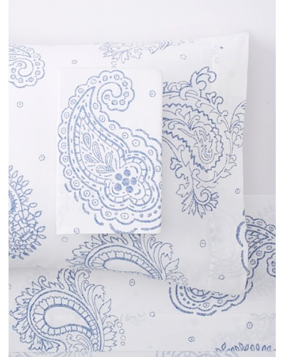 Belle Époque Paisley Sateen Sheet Set