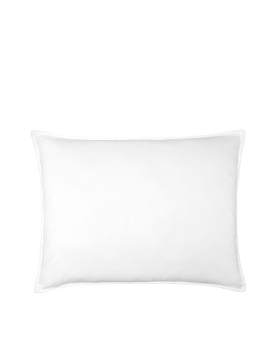 Belle Epoque Utopia Microfiber Medium Down Alternative Pillow, White, Standard