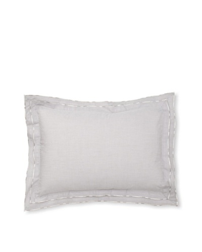 Belle Epoque Flower Wave Boudoir Pillow, Grey, 12x16