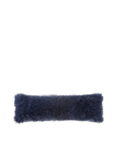 Belle Epoque Mongolian Lamb Extra Long Boudoir Pillow